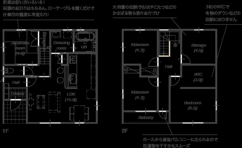 プラン紹介1F